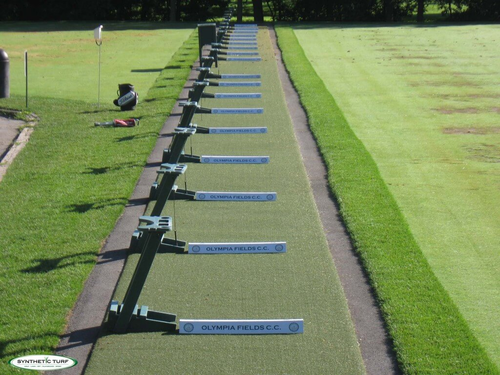 Synthetic Turf Illinois Tee Lines Mats 16