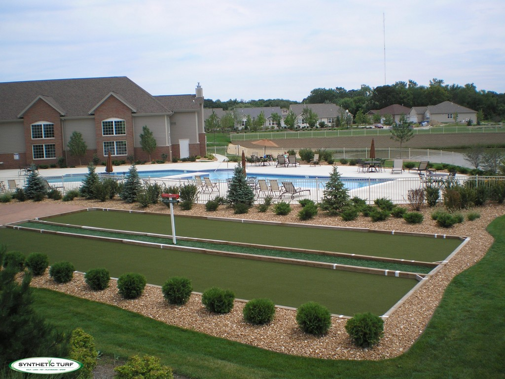 Synthetic Turf Illinois Bocce Court
