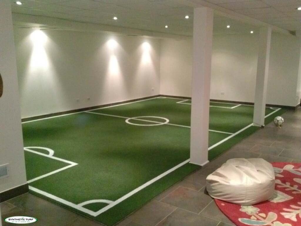 Synthetic Turf Illinois Indoor Basement Soccer 2