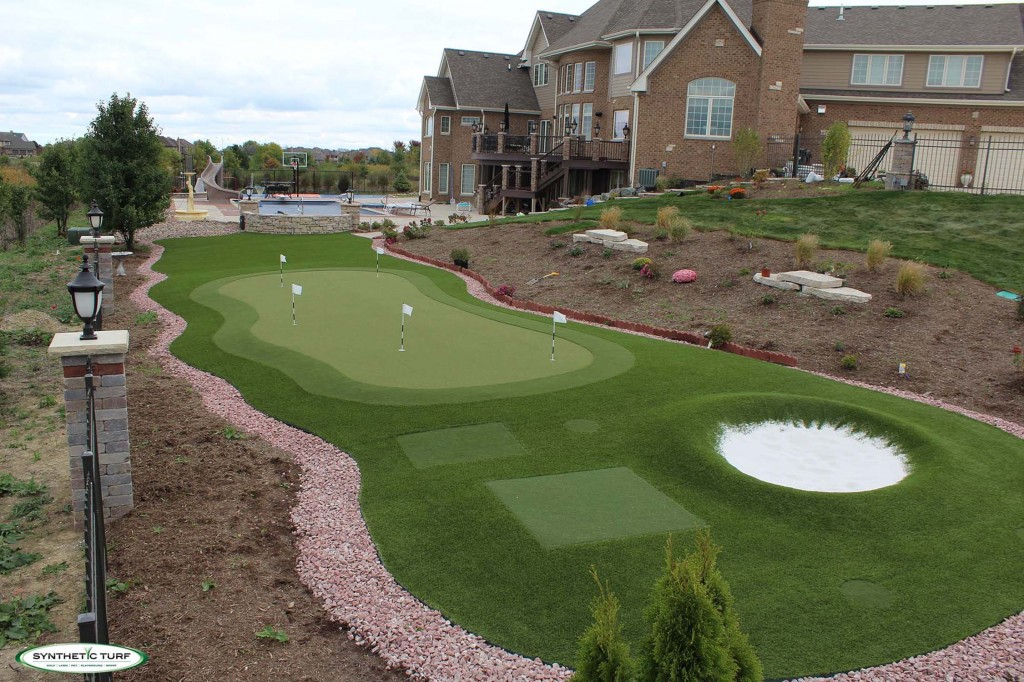 Synthetic Turf Illinois Outdoor Putting Green 10 copy